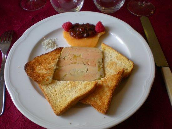 Wirwignes, France : foie gras maison