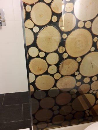 Adara Hotel: Duschabtrennung