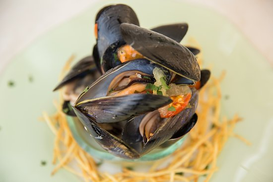 Drios, Greece: mussels