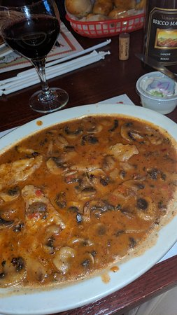 Ruther Glen, VA: Veal Marsala with Nebbiolo