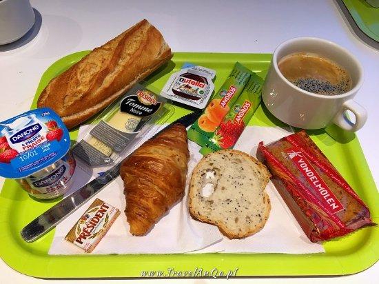 Ibis Budget Paris La Villette : Śniadanie hotelowe - Ibis - TravelAnQa.pl