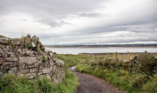 Holy Island, UK: Near Lindisfarne Priory