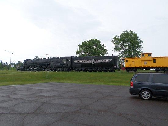 Proctor, MN: Train Outside