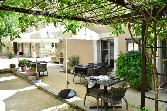 Richerenches, Francia: terrasse