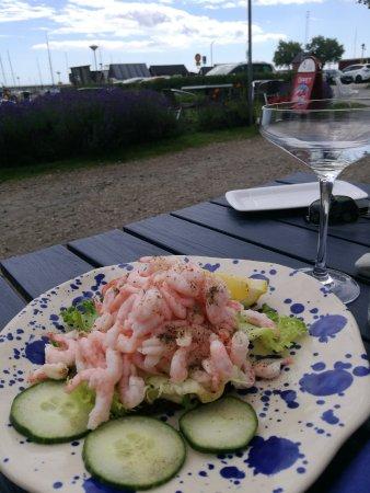 Abbekas, Suecia: Räksmörgås