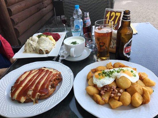 Karczma BIDA : Delikatny obiad dla dwóch osób
