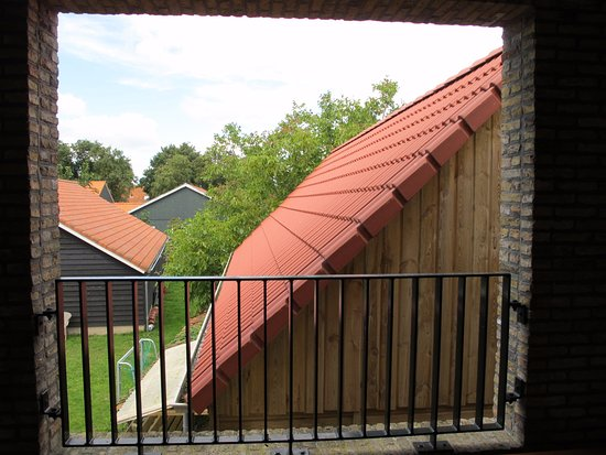 Ballum, The Netherlands: View from Loggia Suite 46 balcony