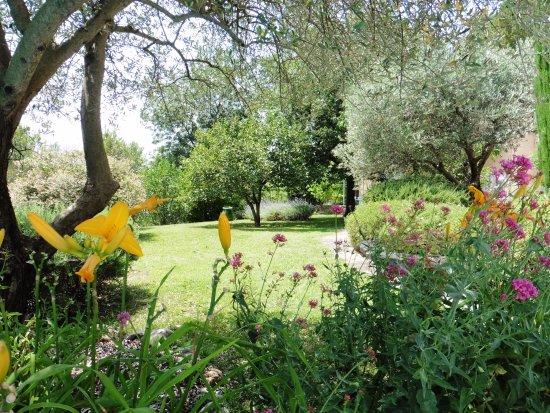 Entrechaux, Frankrike: Les jardins de l'Esclériade
