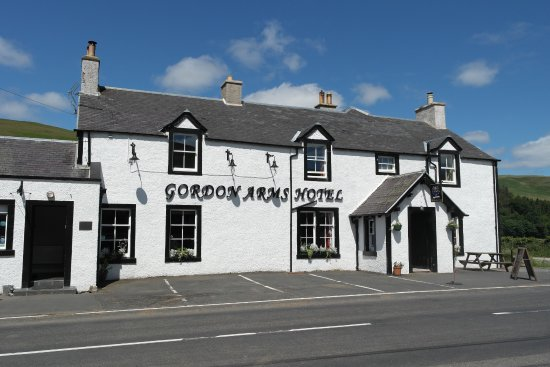 Selkirk, UK: The Gordon Arms, Yarrow Valley, Scottish Borders.  9 miles South of Innerleithen.