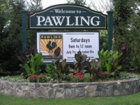 Pawling, NY: Entrance to town