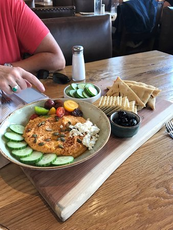 Denton, TX: Sweet potato hummus, GF friendly