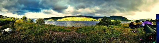 Selkirk, UK: St Mary's Loch 4 miles from the Gordon Arms