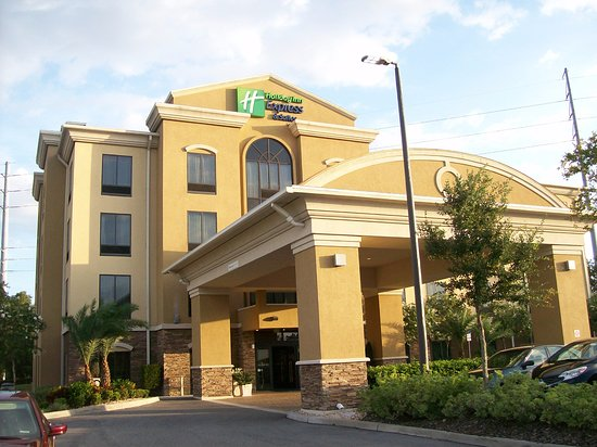 Holiday Inn Express Hotel Suites Orlando East Ucf Area Exterior View Of The