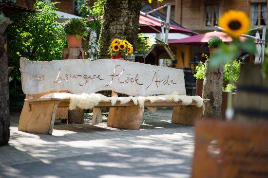 Schangnau, Sveits: ä bungere Fläck Ärde