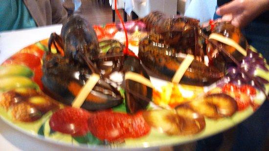 Widnes, UK: Lobster too die for