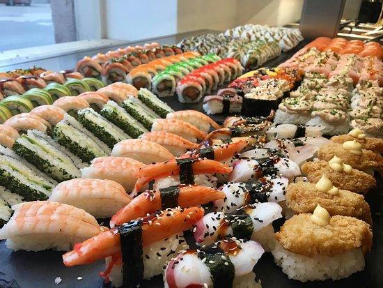 sushi buffet lauantai helsinki