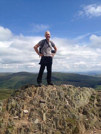 Ambleside, UK: On the top of Wamsfell Pike