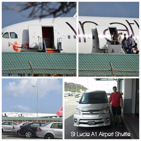 St Lucia A1 Airport Shuttle