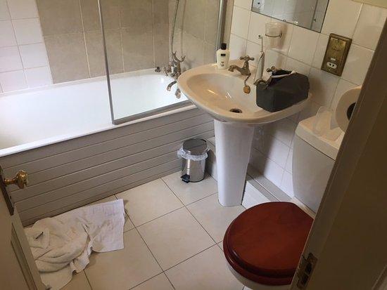 Talladale, UK: Grim bathroom