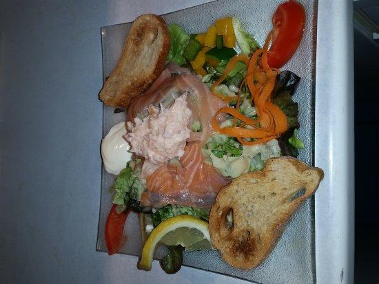 Ax-les-Thermes, France: Un régal,des galettes,des salades,des crêpes,des glaces,que du bonheur...