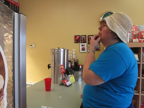 Seekonk, MA: That is me at Honey Dew Donuts.