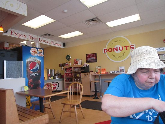 That is me at Honey Dew Donuts Seekonk, Mass.