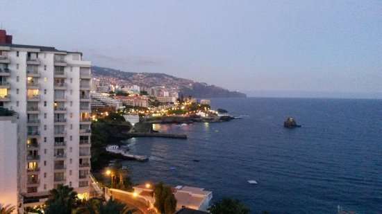 Madeira Regency Cliff: View from rooftop dining terrace