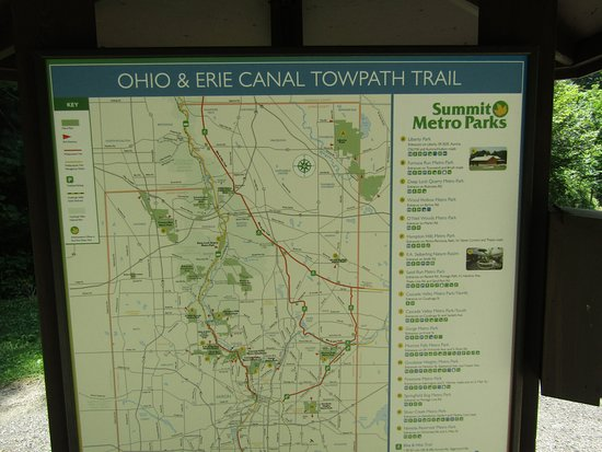 Map - Picture of Cuyahoga Valley National Park, Brecksville ...