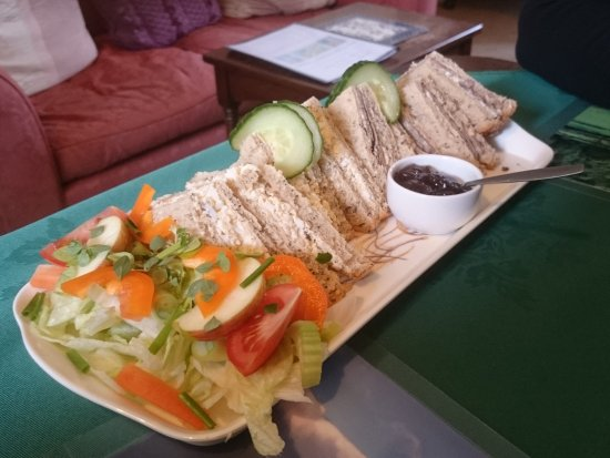 Buckden, UK: Sandwich