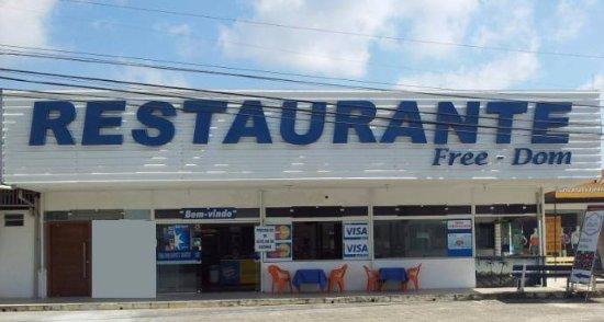 Brusque: Faixada Restaurante FreeDom