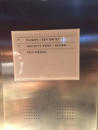 Sky on 57 : 엘리베이터 안내