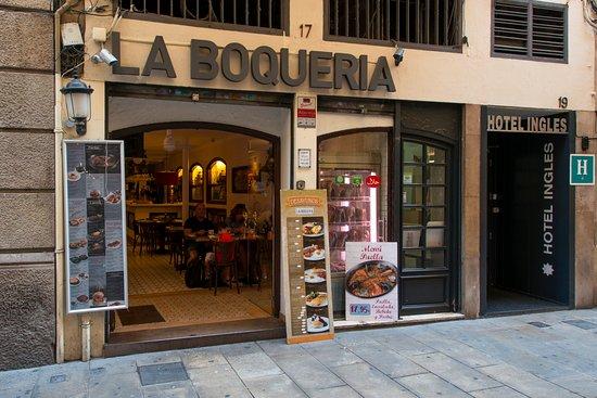 restaurante la boqueria barcelone quartier gothique en catalan barri g tic restaurant. Black Bedroom Furniture Sets. Home Design Ideas