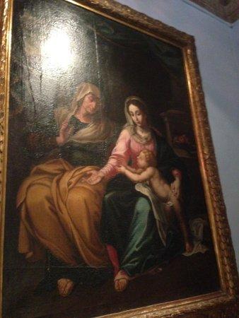 Birgu (Vittoriosa), Malta: Painting in the Palace