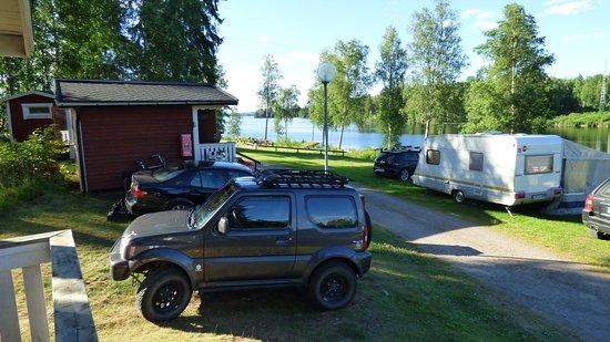 Filipstad, Svezia: Ausblick von der Stuga