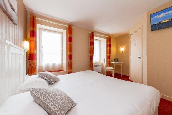 Hotel Le Nautilus: Chambre lit king size