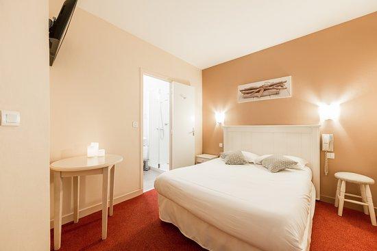Hotel Le Nautilus: Chambre lit double