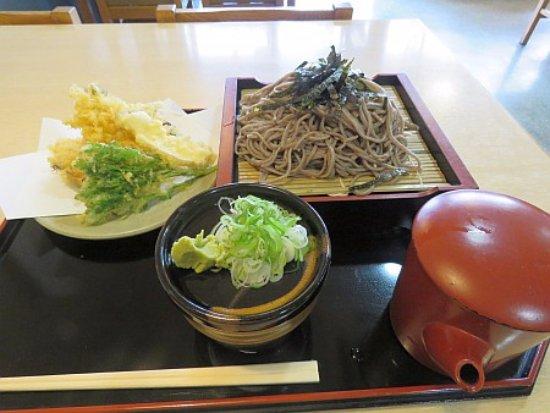 Hidaka-cho, Ιαπωνία: ヤマベ天ぷらざるそば