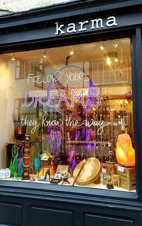 Ripon, UK: Karma's Dreamcatcher window