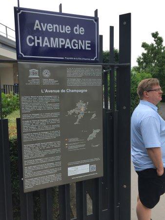 Epernay, Fransa: Avenue de Champagne