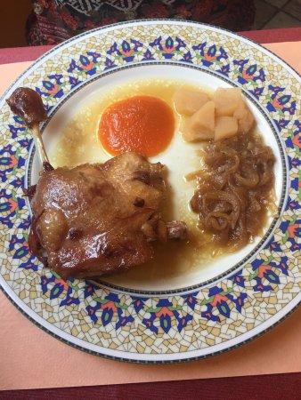 Bellver de Cerdanya, Espagne : Ingredientes frescos y cocinados al punto