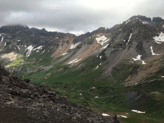 Telluride, CO: Scree field