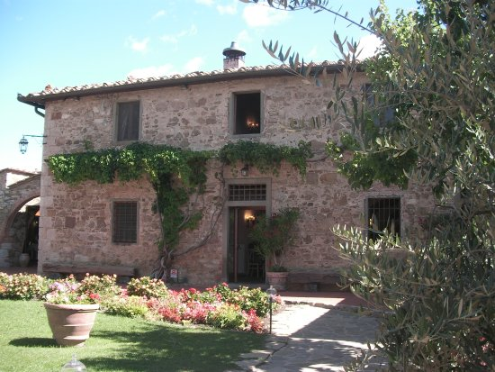 Hotel Belvedere Di San Leonino: The main building of the hotel
