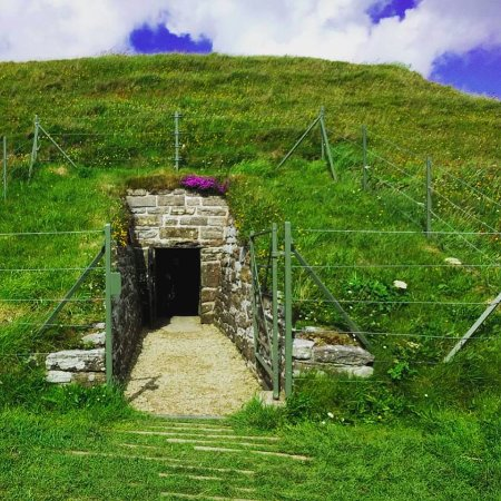 Deerness, UK: Entrance to Maeshowe