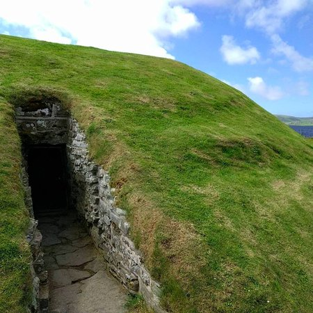 Deerness, UK: Entrance to Unstan tomb