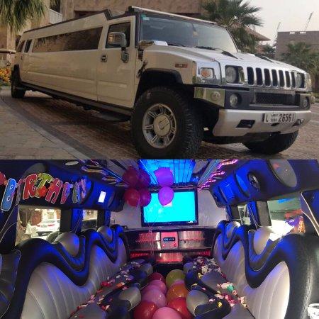 Hummer H2 Limousine High-roof - Picture of Dubai Limousine