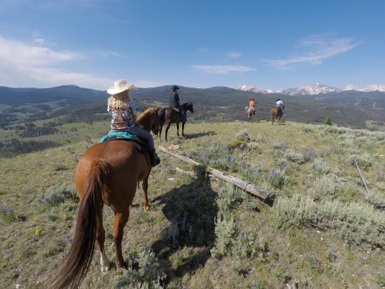 Nine Quarter Circle Ranch: Mt Lincoln