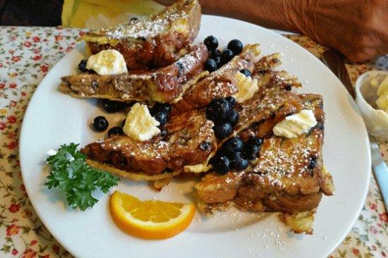 Lahaska, PA: Blueberry French Toast