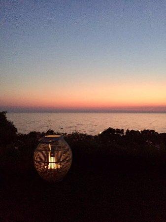Vrachos, Grecja: Η θέα από το roof garden