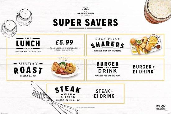 Fleet, UK: super savers!