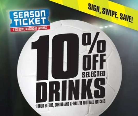 Fleet, UK: pop in and get 10% with our season cards on your favourite sports!